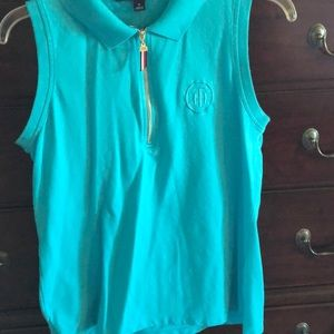 Tommy Hilfiger light blue top size medium
